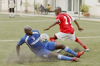 Futebol veteranos Angola