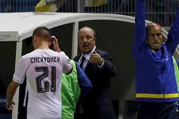 Cheryshev não podia ser utilizado frente ao Cádiz