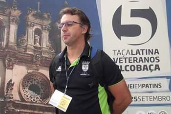 Paulo Pereira, treinador do hóquei em patins