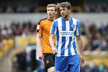 Brighton assegura subida à Liga inglesa com vitória sobre o Wigan.