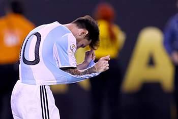 Messi frustrado