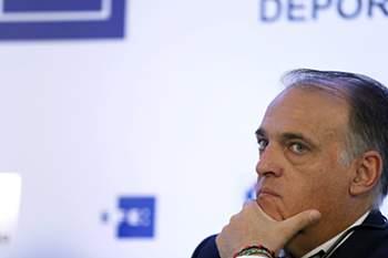 Javier Tebas, presidente da Liga espanhola de Futebol