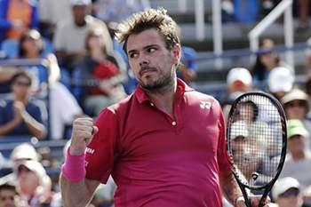 Open EUA: Wawrinka vence Nishikori e segue para a final contra Djokovic