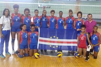 Cabo Verdea: Seleção feminina de voleibol