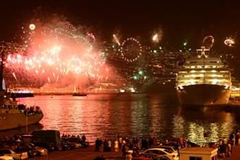 Fogo de artifício no Funchal