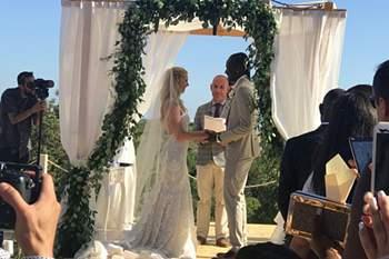 Eder casou com a modelo belga Sanna Ladera