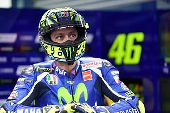 Valentino Rossi: %u201Cacabei por ter um problema com o motor da moto%u201D