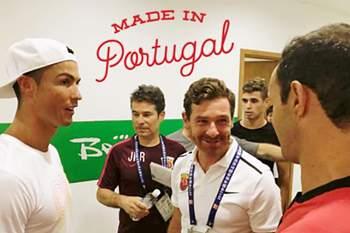 """""""O melhor"""" disse Villas-Boas de Ronaldo"""