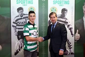 Budag Nasirov foi apresentado como reforço do Sporting.