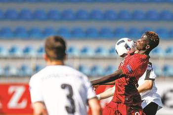 José Gomes marcou o golo de Portugal