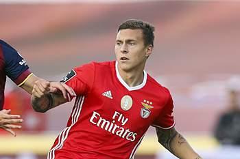 O jogador do Benfica est