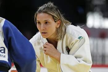 Judoca portuguesa eliminada na primeira ronda.