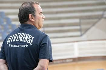 José Ricardo, treinador da Oliveirense