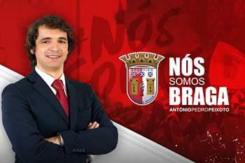 António Pedro Peixoto admite alterar data de nascimento do Braga