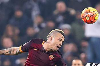 Nainggolan fez o golo da AS Roma