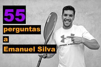 Emanuel Silva, um dos melhores canoístas do desporto português, aceitou o convite do SAPO Desporto para fazer parte da segunda temporada desta rubrica e responder a 55 perguntas, sem cortes, tudo num só 'take'.