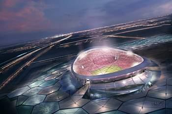 Estádio no Qatar.