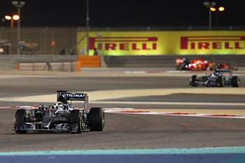 Lewis Hamilton venceu o GP Bahrain 2015.