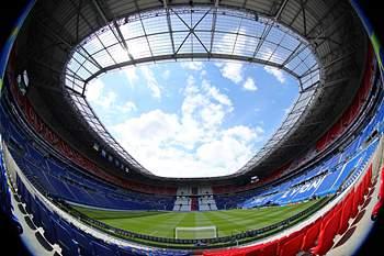 Stade Lyon recebe a selecção gaulesa pela primeira vez neste Europeu. Foto: uefa.com