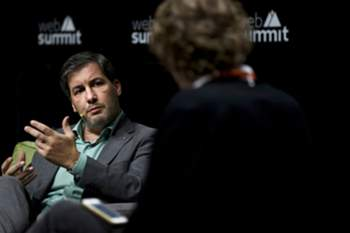Bruno de Carvalho no Web Summit