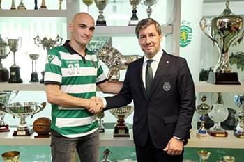 Ivan Nikcevic renova com o Sporting