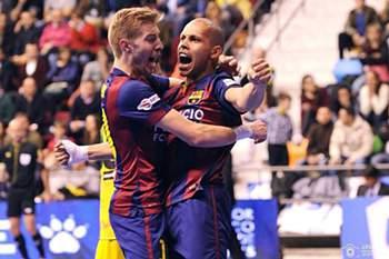 Jogador de futsal do Barcelona.