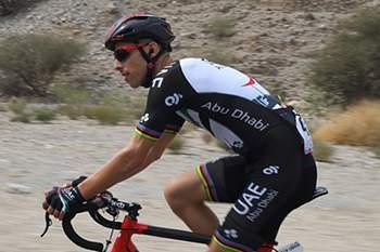 Ciclista ficou no segundo posto da etapa ganha por Omar Fraile