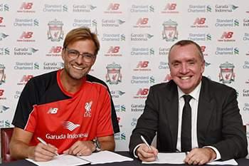 Jürgen Klopp é o novo treinador do Liverpool.
