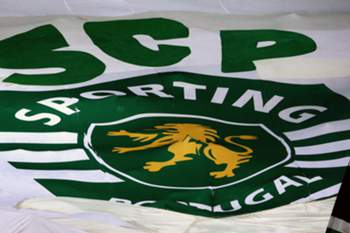 Bandeira do Sporting. ANTONIO COTRIM