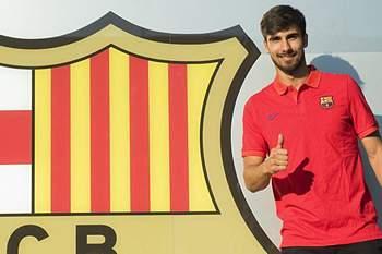 André Gomes é um dos reforços do Barcelona para a próxima época.