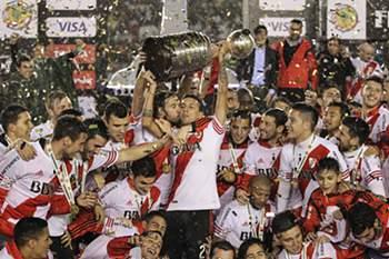 River Plate conquista a Taça Libertadores da América
