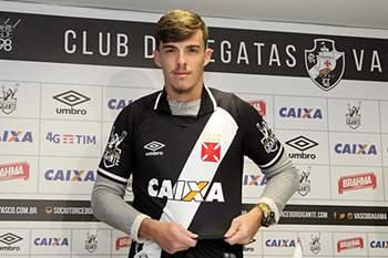 Bruno Paulista apresentado no Vasco da Gama