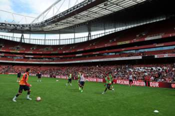 Treino do Arsenal