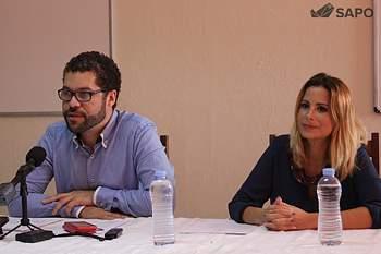 Gerson Melo e Ana Margarida Conde