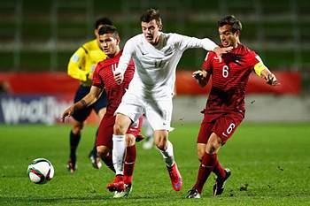 Portugal - Nova Zelândia no Mundial de Sub-20.