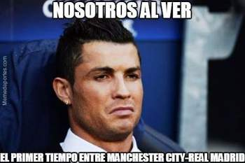 Os memes do Man. City-Real Madrid
