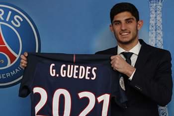 Gonçalo Guedes confirmado no PSG