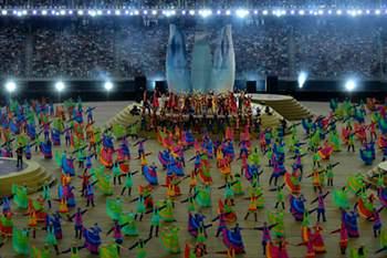 Cerimónia de encerramento dos Jogos Europeus