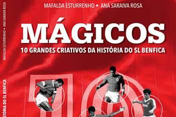Benfica junta 'mágicos' Eusébio, Coluna, Rui Costa e Pablo Aimar em livro