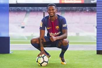 Nelson Semedo, jogador do Barcelona