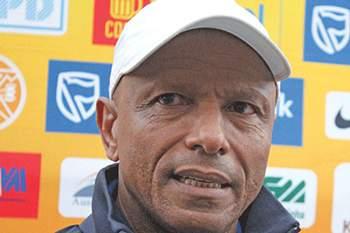 Artur Semedo, treinador da União Desportiva do Songo