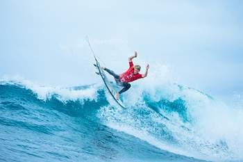 John John Florence (Havai) em ação em Bells Beach