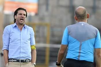 Jorge Simão no encontro entre o Chaves e o Benfica