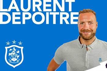 Laurent Depoitre no Huddersfield Town