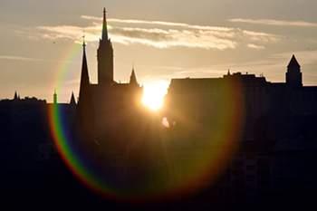 A cidade de Budapeste apresentou candidatura para os Jogos Olímpicos.