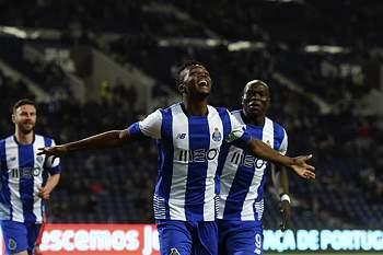 Chidozie celebra o primeiro golo ao serviço do FC Porto