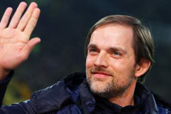 epa04711468 (FILE) A file picture dated 03 March 2012 of Mainz' head coach Thomas Tuchel before the German Bundesliga soccer match between Borussia Dortmung and FSV Mainz 05 in Dortmund,Germany. Bundesliga soccer club Borussia Dortmund appointed Thomas Tuchel as coach for the next season. Tuchel, 41, has signed a three-year contract from 01 July 2015 to succeed Juergen Klopp, the club announced on 19 April 2015. EPA/KEVINKUREK