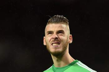 David De Gea, guarda-redes do Manchester United