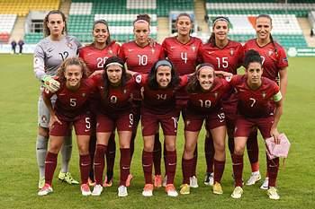 Equipa de Portugal que defrontou a República da Irlanda para garantir o segundo lugar do Grupo 2.