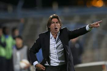 Belenenses's head coach Sa Pinto reacts during the UEFA Europa League Group I match against KKS Lech Poznan at Restelo Stadium in Lisbon, Portugal, 26th November 2015. JOSE SENA GOULAO/LUSA